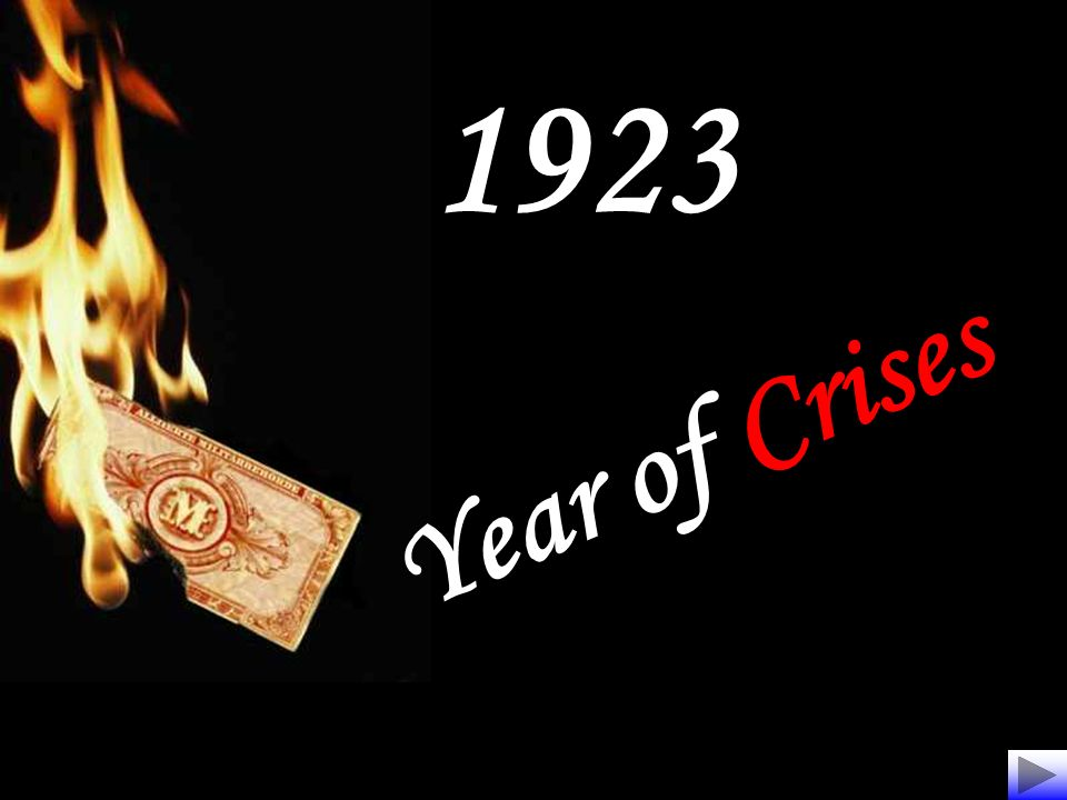 1923 Year of Crises
