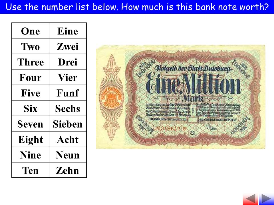 Use the number list below. How much is this bank note worth.