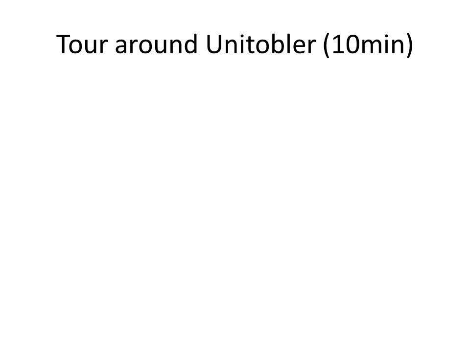 Tour around Unitobler (10min)
