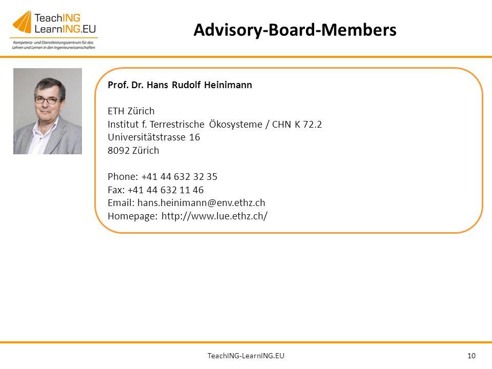 TeachING-LearnING.EU10 Advisory-Board-Members Prof.