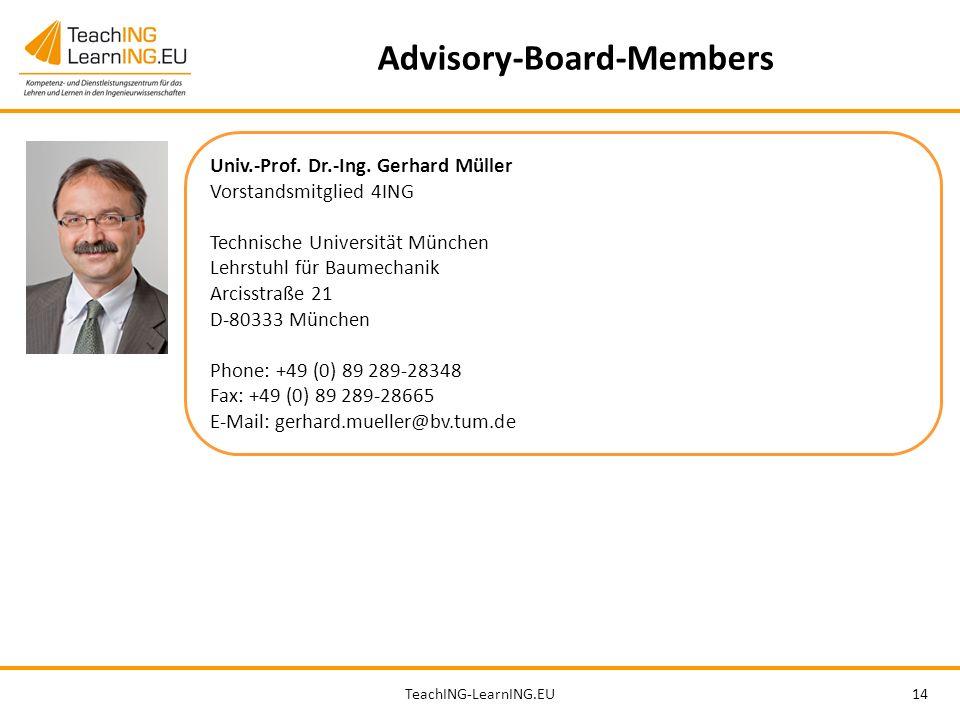 TeachING-LearnING.EU14 Advisory-Board-Members Univ.-Prof.