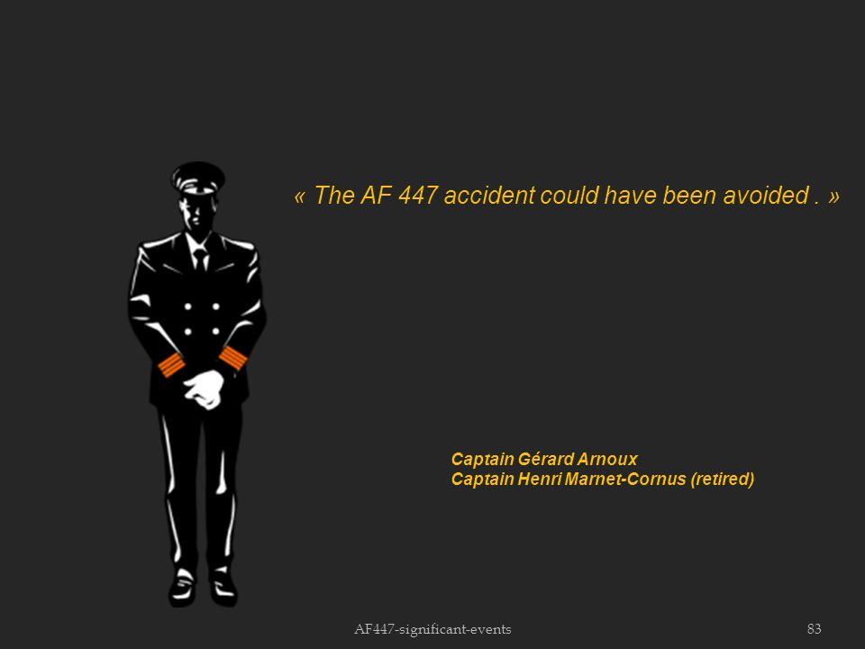 AF447-significant-events83 « The AF 447 accident could have been avoided.