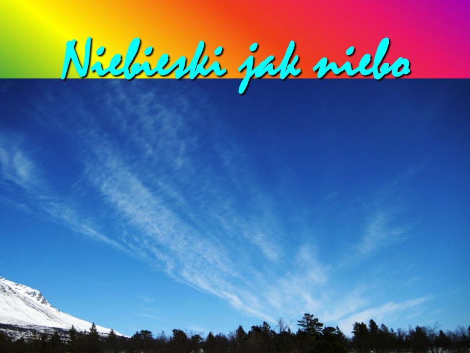 Niebieski jak niebo