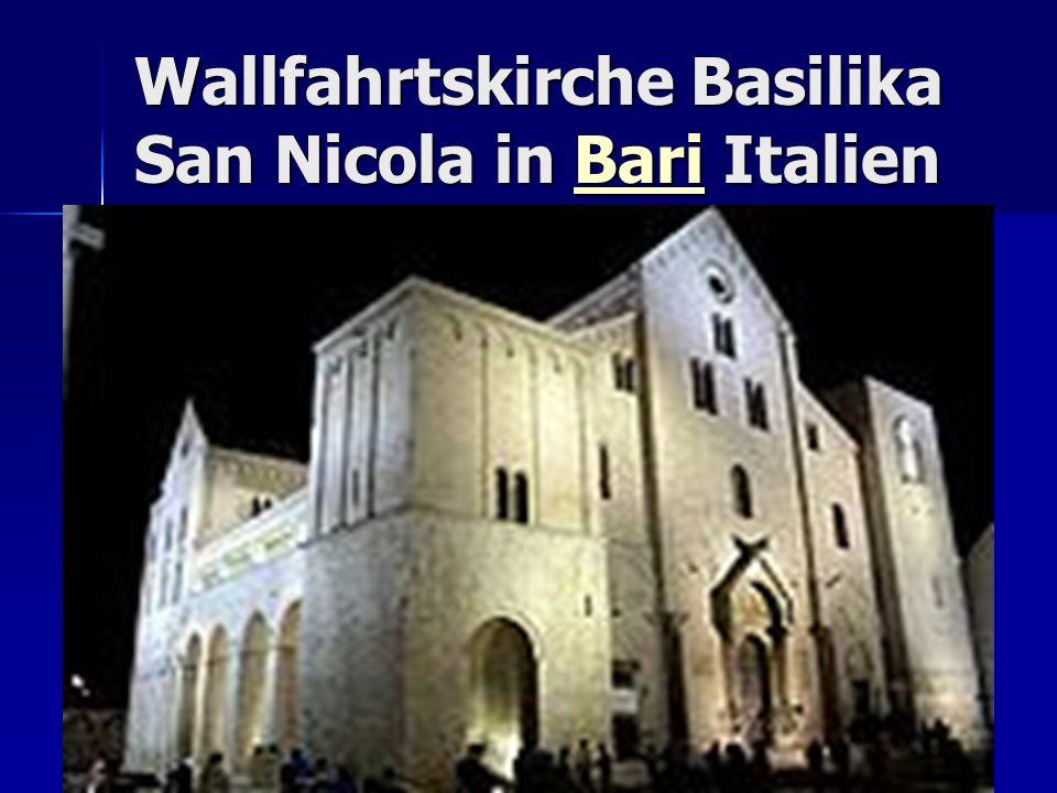 Wallfahrtskirche Basilika San Nicola in Bari Italien Bari