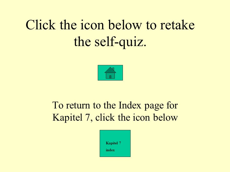 Click the icon below to retake the self-quiz.