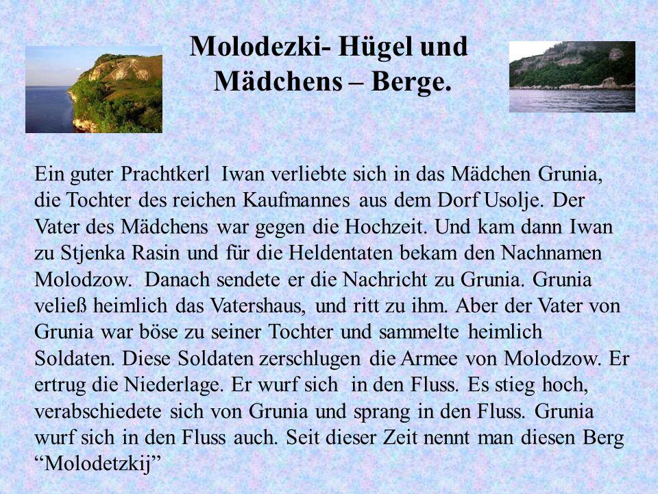 Molodezki- Hügel und Mädchens – Berge. Ein guter Prachtkerl Iwan verliebte sich in das Mädchen Grunia, die Tochter des reichen Kaufmannes aus dem Dorf