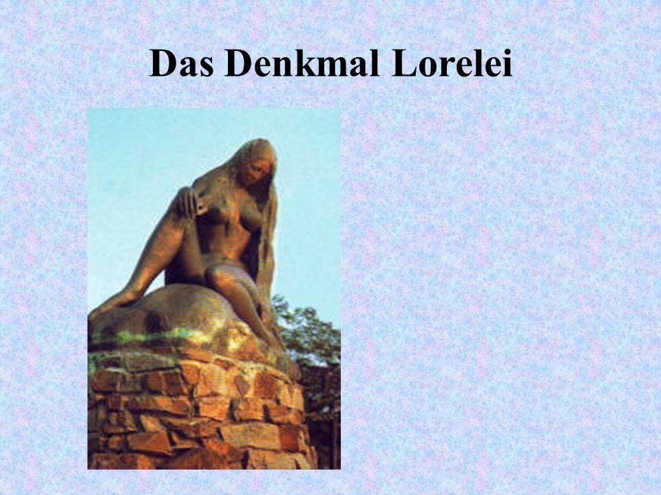 Das Denkmal Lorelei