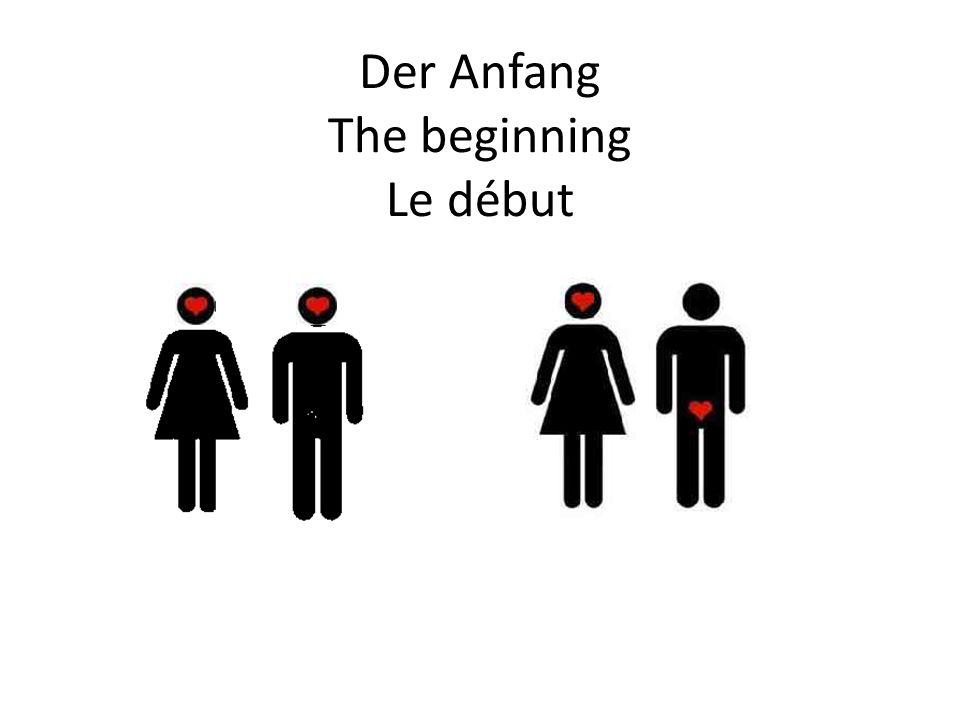 Der Anfang The beginning Le début