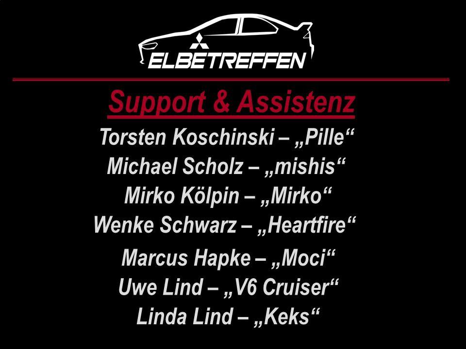 Support & Assistenz Torsten Koschinski – Pille Michael Scholz – mishis Mirko Kölpin – Mirko Wenke Schwarz – Heartfire Marcus Hapke – Moci Uwe Lind – V