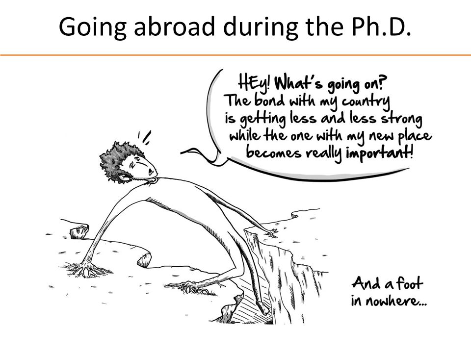 Going abroad during the Ph.D.