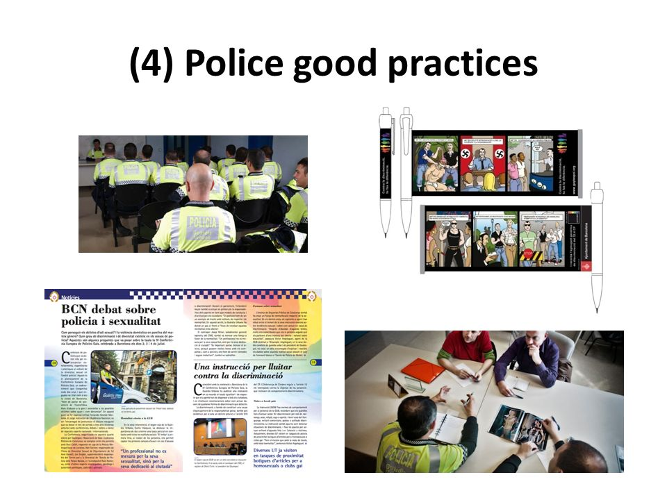 (4) Police good practices