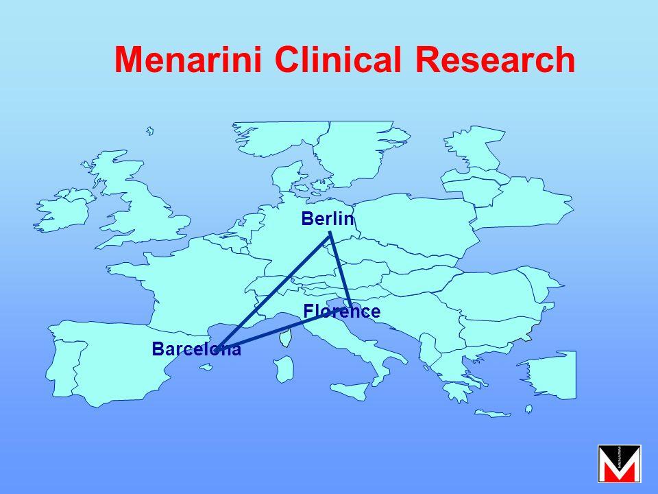 Barcelona Florence Berlin Menarini Clinical Research