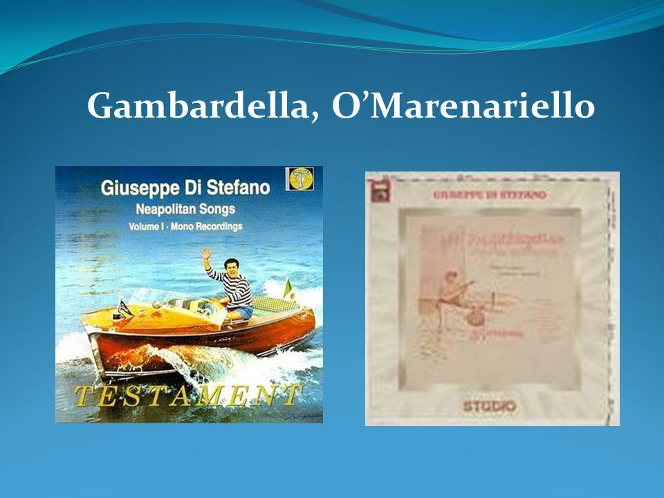 Gambardella, OMarenariello