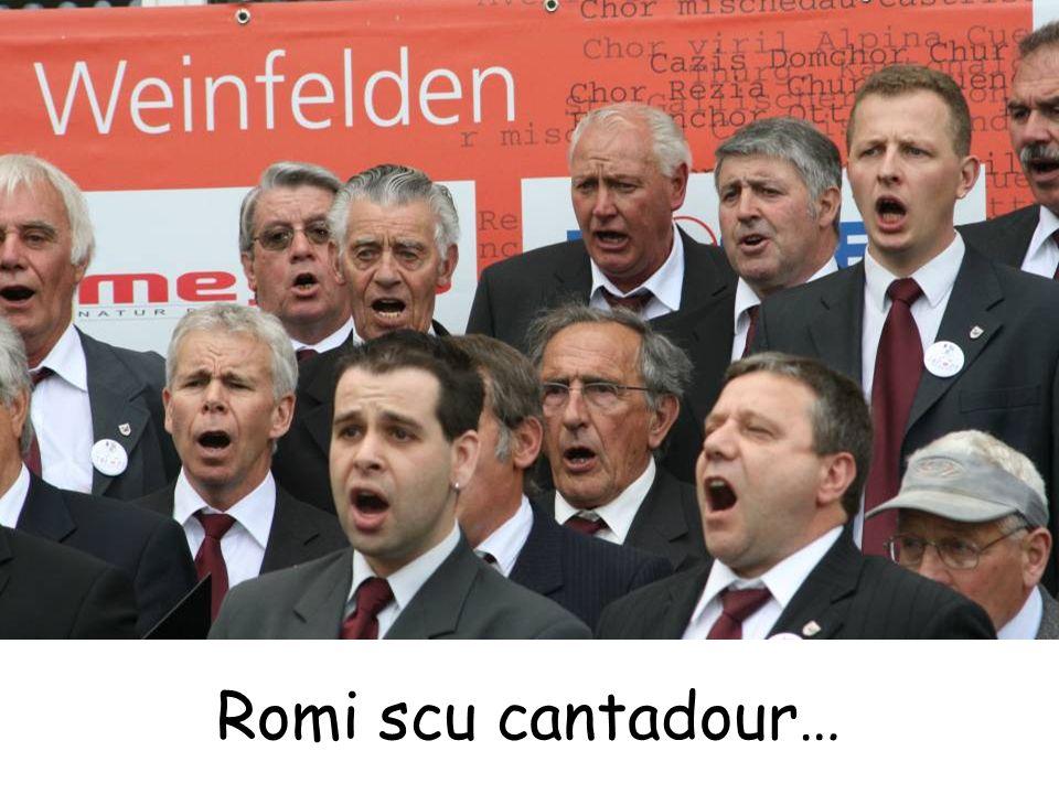 Romi scu cantadour…