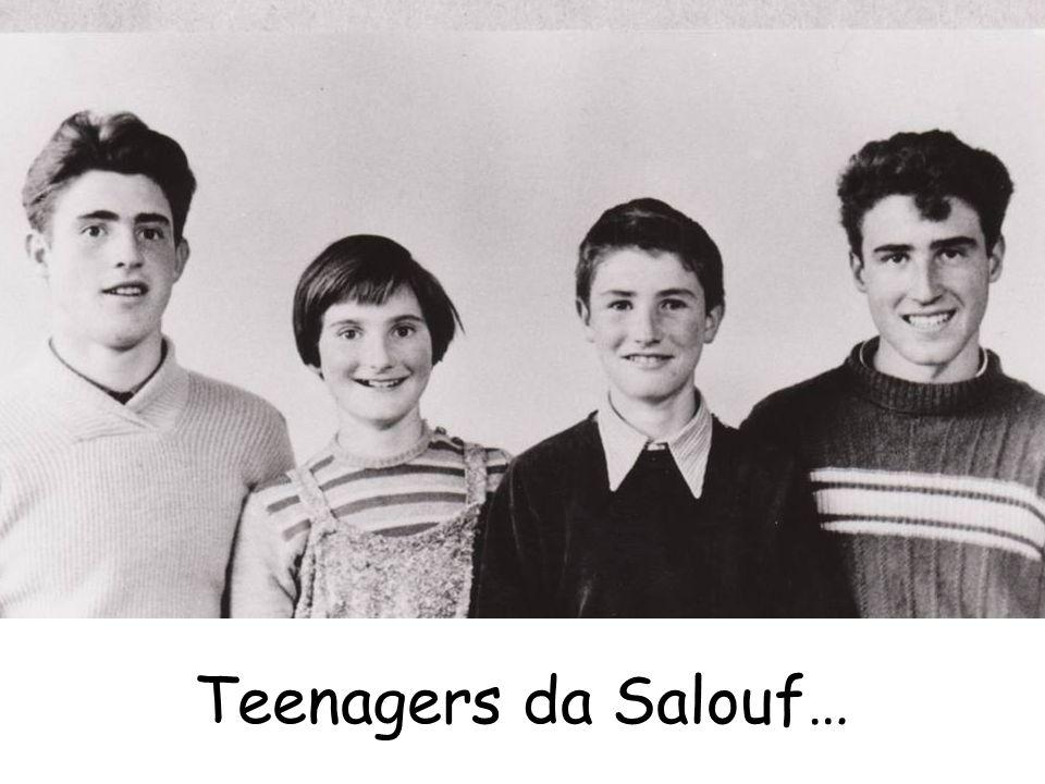 Teenagers da Salouf…