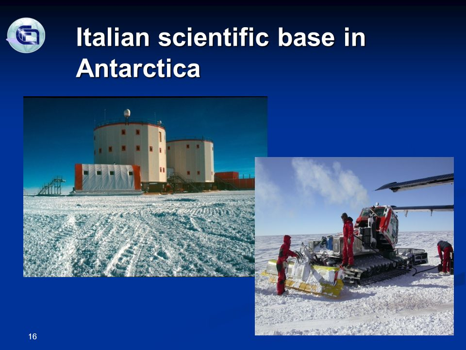 16 Italian scientific base in Antarctica