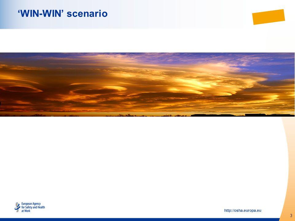 3 http://osha.europa.eu WIN-WIN scenario
