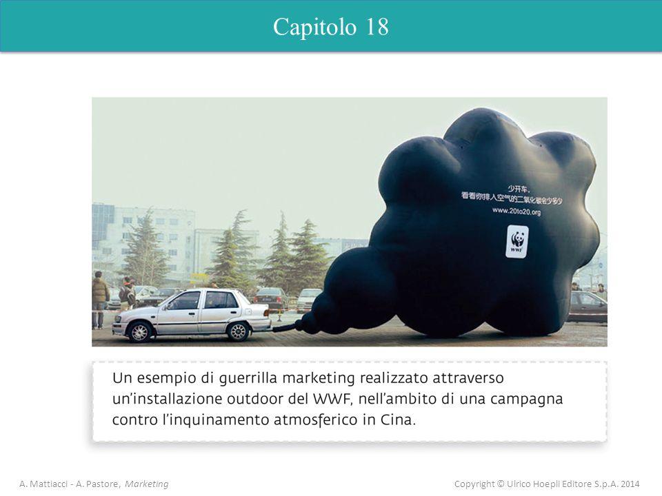 Capitolo 18 A. Mattiacci - A. Pastore, Marketing Copyright © Ulrico Hoepli Editore S.p.A. 2014