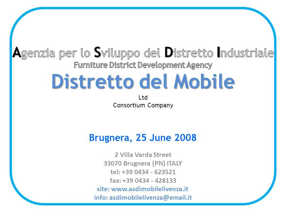 2 Villa Varda Street 33070 Brugnera (PN) ITALY tel: +39 0434 - 623521 fax: +39 0434 - 428133 site: www.asdimobilelivenza.it info: asdimobilelivenza@email.it