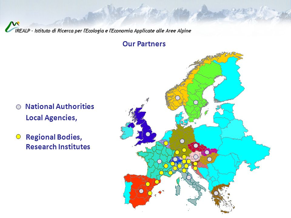 The President of Irealp was elected in December 2008 as vice-president of the European Association for Mountain regions EUROMONTANA, delegated for infomobility and energy.