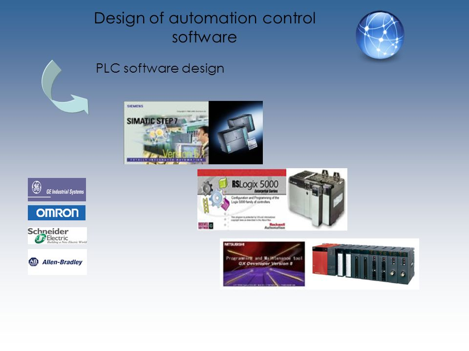 PLC software design Design of automation control software
