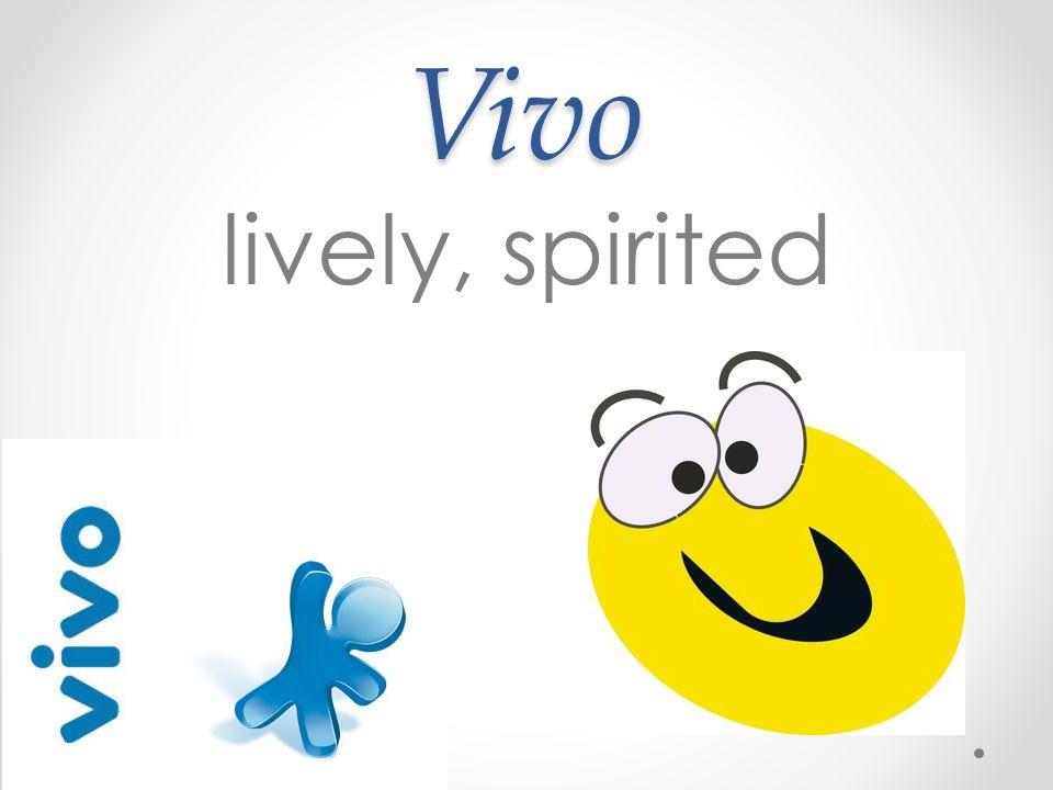 Vivo lively, spirited