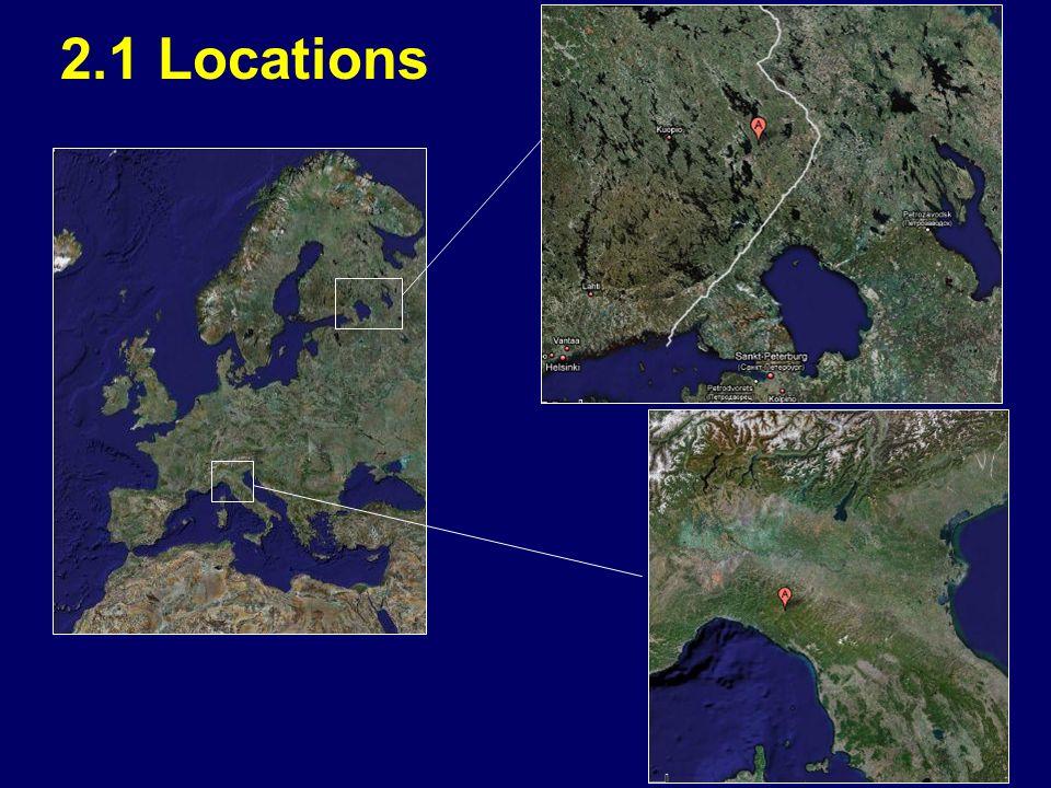 2.1 Locations