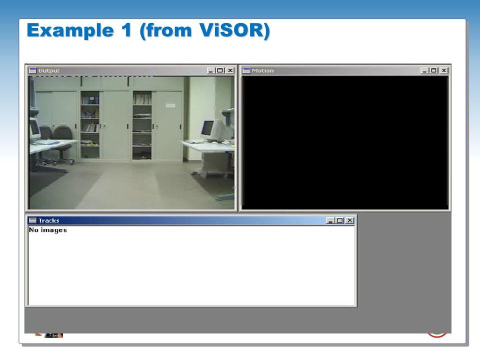 Roberto Vezzani - Imagelab – Università di Modena e Reggio Emilia Example 1 (from ViSOR)