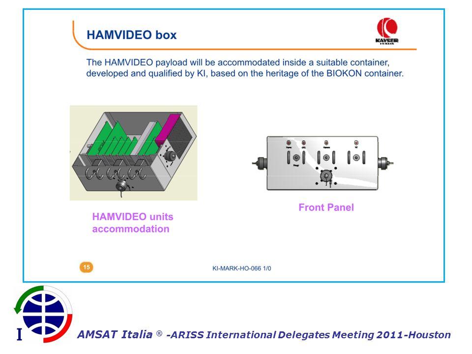 AMSAT Italia ® -ARISS International Delegates Meeting 2011-Houston