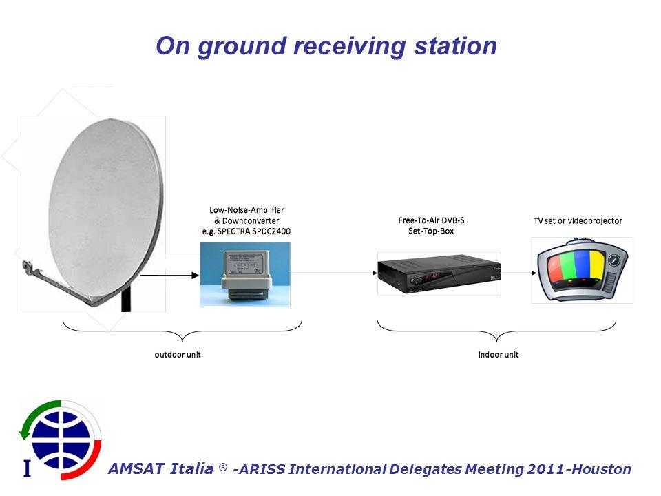 AMSAT Italia ® -ARISS International Delegates Meeting 2011-Houston On ground receiving station