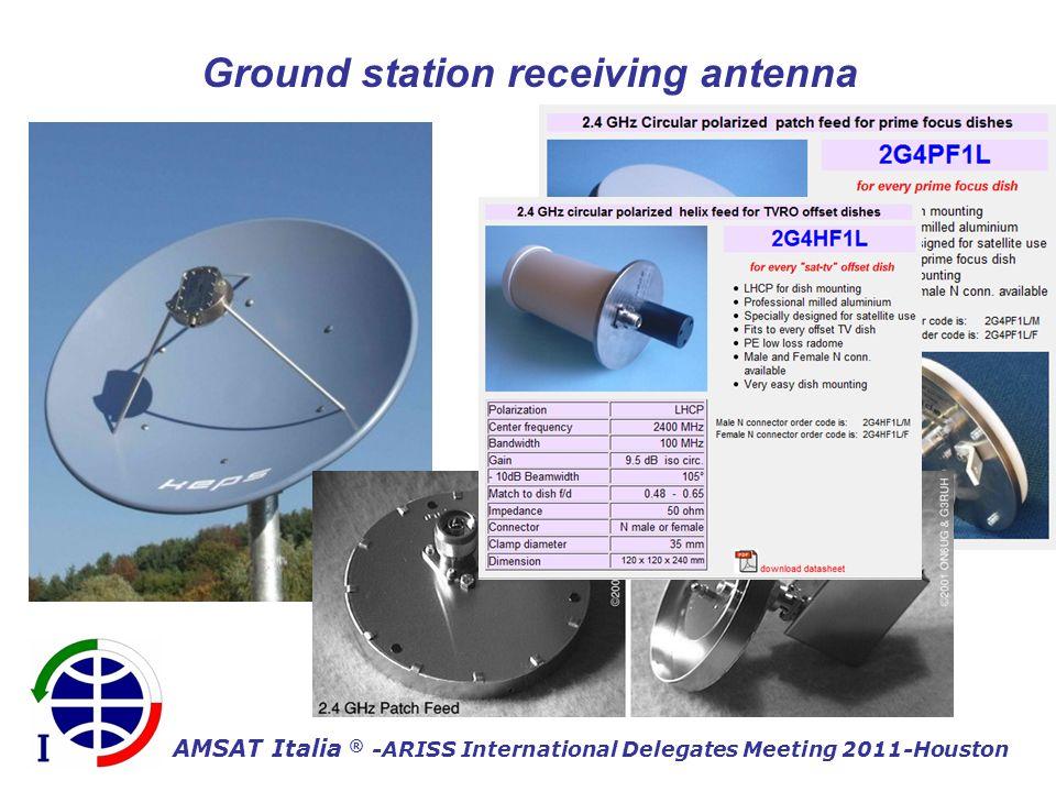 AMSAT Italia ® -ARISS International Delegates Meeting 2011-Houston Ground station receiving antenna