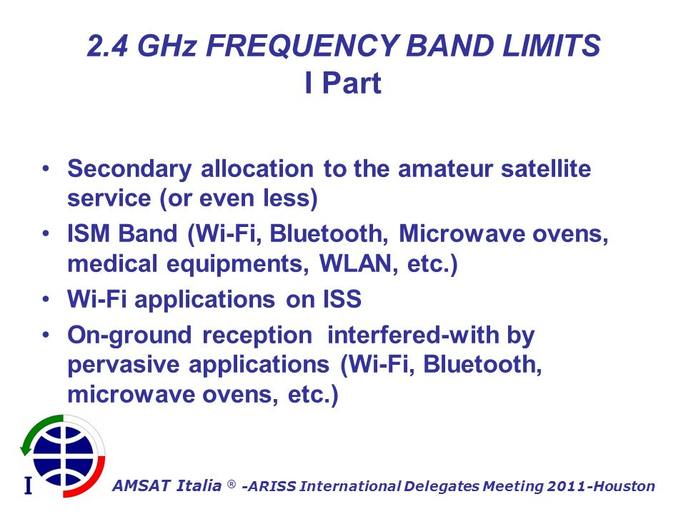 AMSAT Italia ® -ARISS International Delegates Meeting 2011-Houston L and S-Band ARISS antennas
