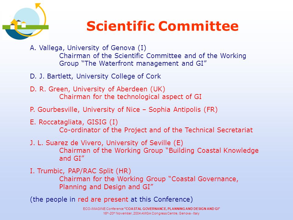 Scientific Committee A.