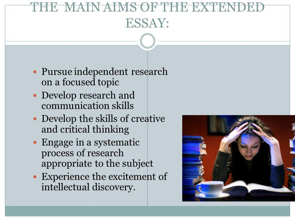 Extended essay world studies