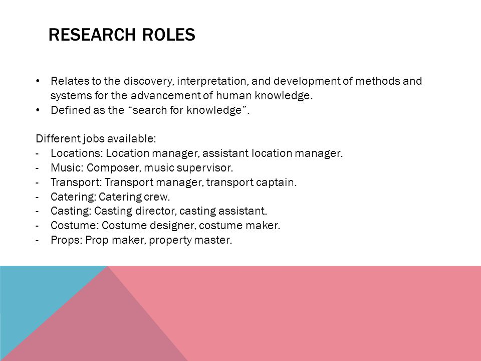 12 Research
