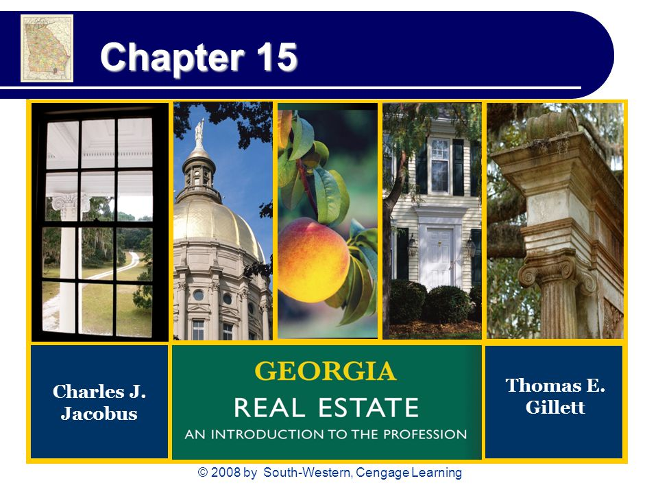 © 2008 by South-Western, Cengage Learning Chapter 15 Charles J. Jacobus Thomas E. Gillett