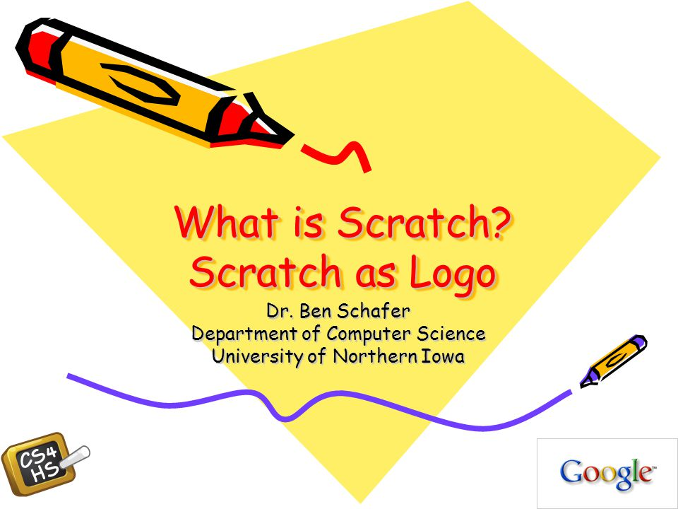 What is Scratch. Scratch as Logo Dr.