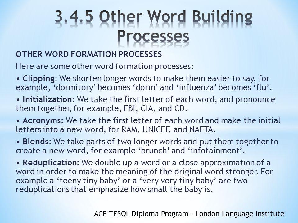 Ace Tesol Diploma Program London Language Institute Objectives You