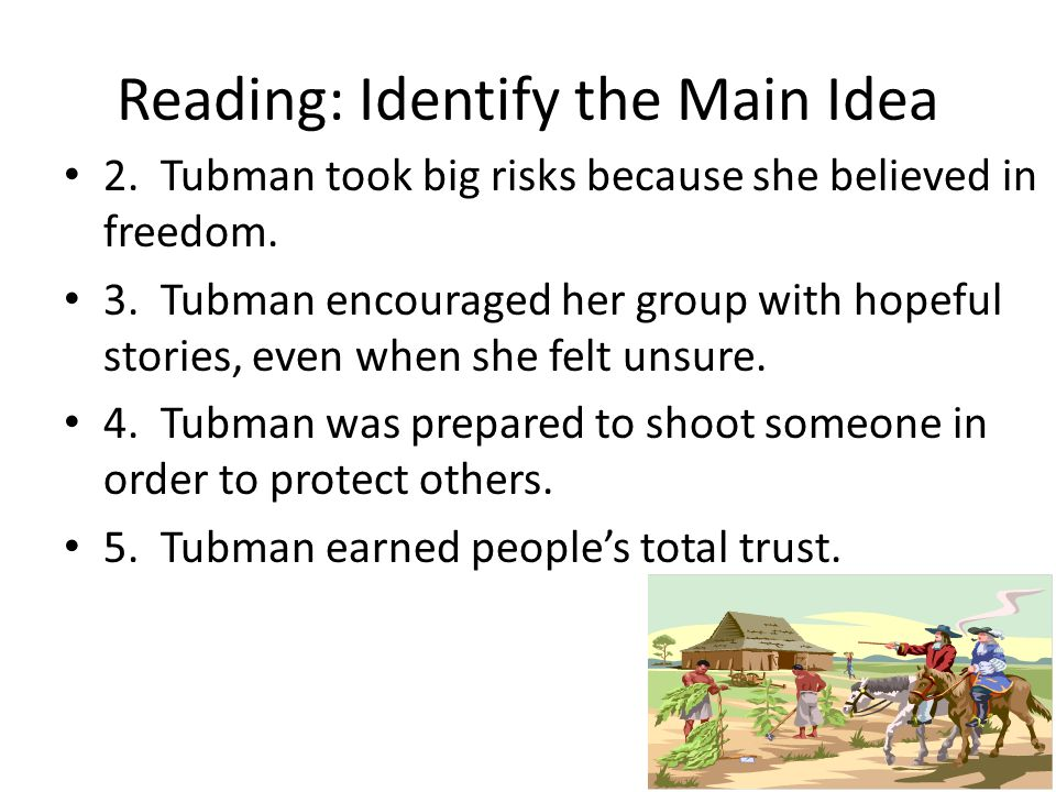 harriet tubman thesis statement essay