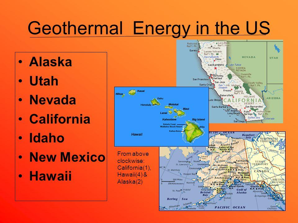 Geothermal Power What Is Geothermal Energy Geothermal Energy Is - Heat map us with alaska