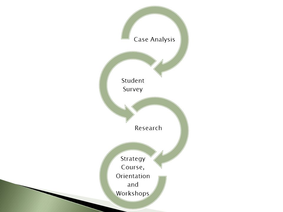 Case Analysis Student Survey Research Strategy Course, Orientation and Workshops