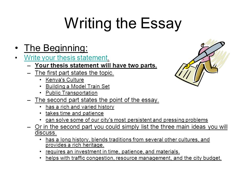How to write a medical thesis