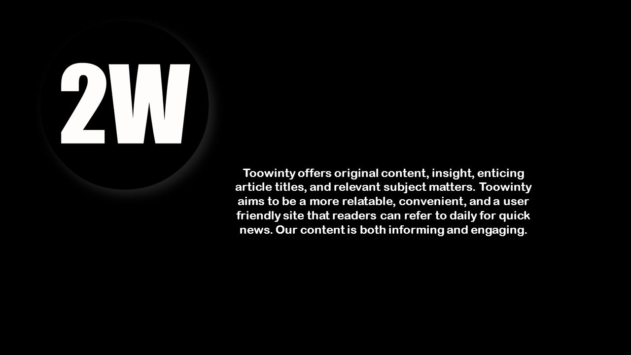 Toowinty offers original content, insight, enticing article titles, and relevant subject matters.
