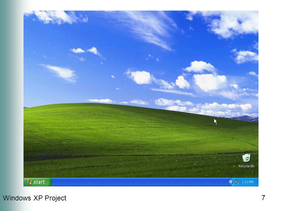 Windows XP Project 7