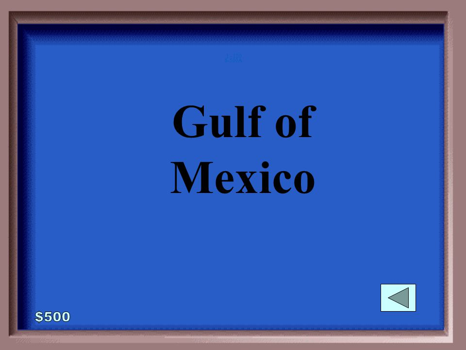 6-500 What gulf did the Mayan Empire stretch to in the west