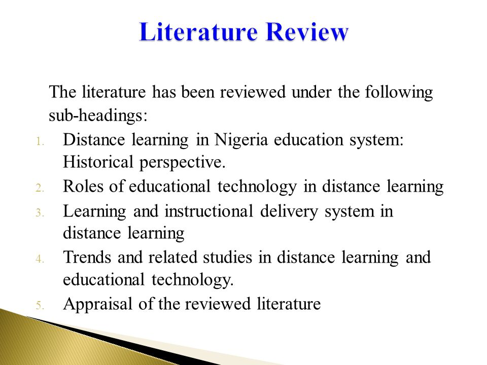 Literature Reviews - Home - University of Kent