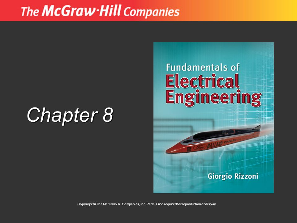 Chapter 8 Copyright © The McGraw-Hill Companies, Inc.