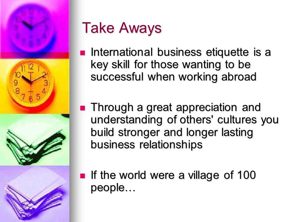 Business etiquette quotes
