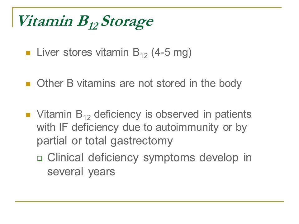 Vitamins B 6 and B 12 General biochemistry Functions Deficiency ...