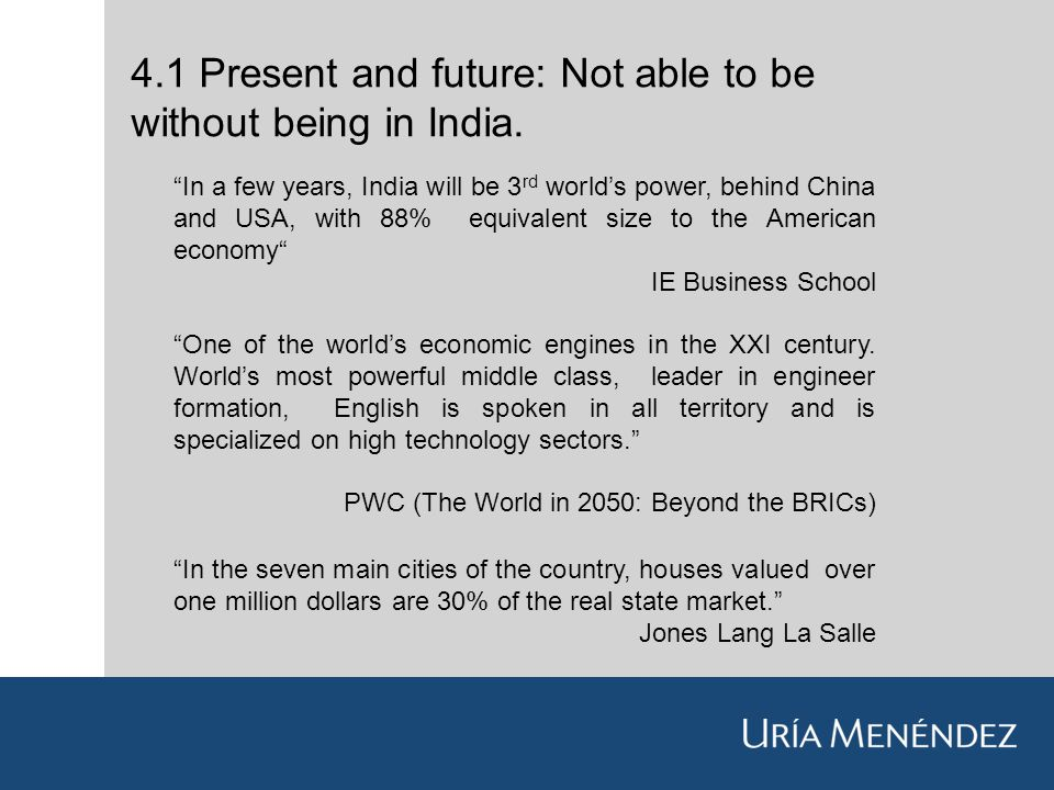 How European Companies Could Assist India Jorge Martí Moreno - World most powerful countries in future